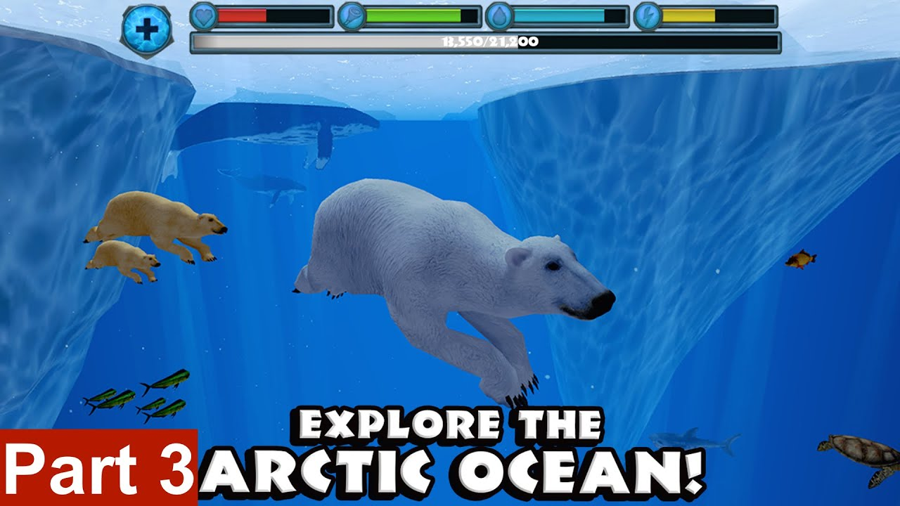 polar bear simulator by gluten free games part 3