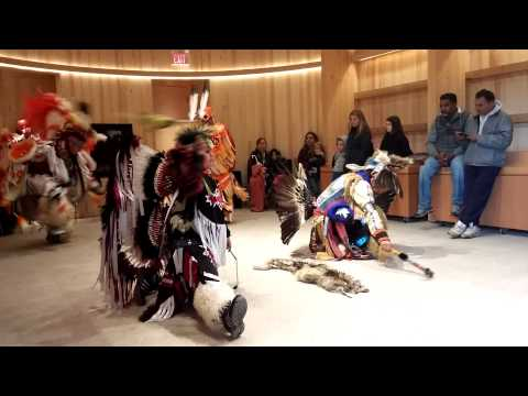 Mohawk Iroquois Nations - Pine White dancers