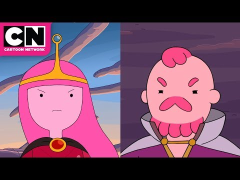 Adventure Time | History of the Gum War | Cartoon Network