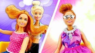 """Куклы Барби: Тереза """"ДО"""" и """"ПОСЛЕ"""" - меняем имидж. Мультики с куклами - Игры для девочек / Видео"""