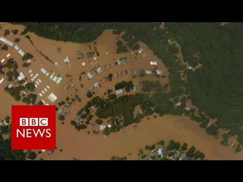 Louisiana flooding Before and After BBC News YouTube