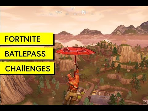 "Fortnite: ""Follow the treasure map found in Snobby Shores"""