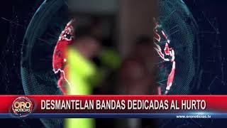 DESMANTELAN BANDAS DEDICADAS AL HURTO EN SANTANDER - ORONOTICIAS.TV