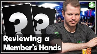 Reviewing a PokerCoaching Member's Hand Histories - A Little Coffee with Jonathan Little, 7/1/2020