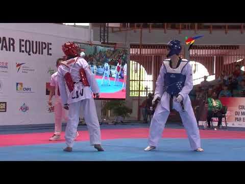 Abidjan 2017 World Taekwondo GP Final -68kg D.H.LEE(KOR) vs P.LOGBO(CIV) Round of 16