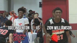 Collin Sexton vs Zion Williamson!!! Footage From Before They BLEW Up! IndiHoops TipOff 2016