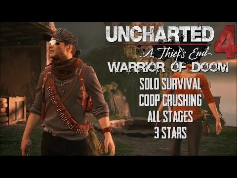 Uncharted 4 | Survival | Solo All Stages 3 Stars Crushing | Total Completion Time: 96 min 42sec