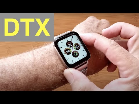 """DTNo.1 DTX 1.78"""" HD Screen IP68 Waterproof BT5 Apple Watch Shaped Smartwatch: Unboxing and 1st Look"""