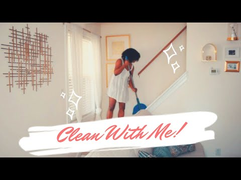 CLEAN WITH ME⎜SUMMER CLEANING MOTIVATION⎜LOVE_TAUNYA