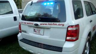 Walk around of L.A. State Fire Marshal