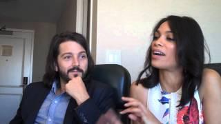 Diego Luna and Rosario Dawson at the SXSW Film Festival