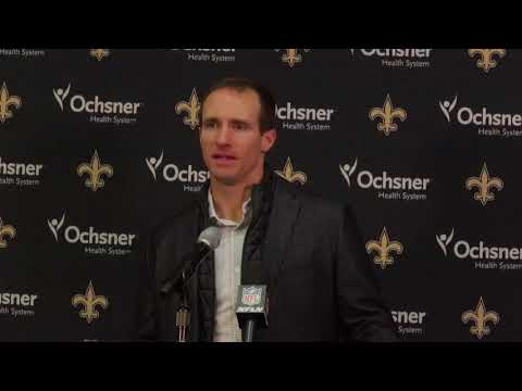 """Drew Brees after 29-24 loss to the Vikings: """"We are all still a bit shell shocked"""""""