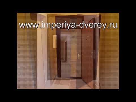 Металлические двери для тамбура в Подольске Империи Дверей
