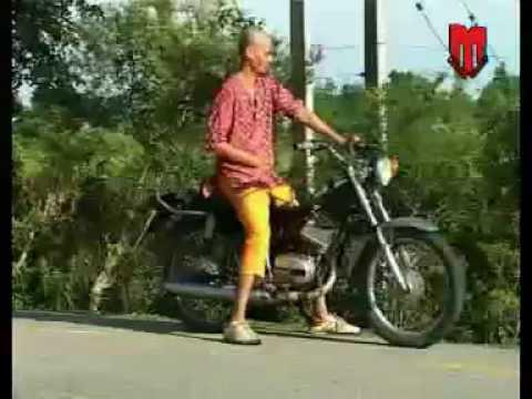 SHREE KRISHNA LUITEL COMEDY Song - A ba kindeuna bhat bhate....
