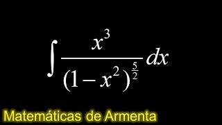integracion por sustitucion trigonometrica ejemplo 55