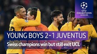 Young Boys vs Juventus (2-1) | UEFA Champions League Highlights