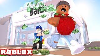 ESCAPE THE BANK IN ROBLOX!!