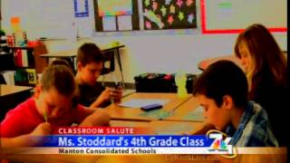 Classroom Salute- Ms. Stoddard