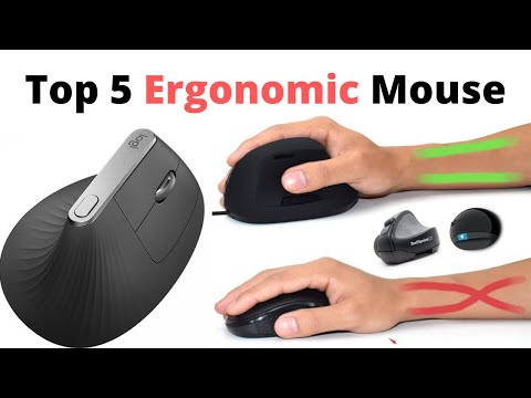 Top 5 Ergonomic Mouse || Best In The World || Technology || Best For U || Amazon