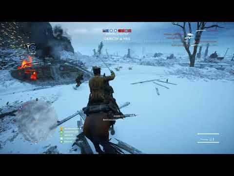 BF1 How to defeat a Mk.IV with the Cavalry on Volga Op