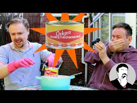 Surströmming Taste Test with Barry   Ashens