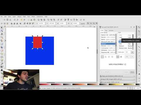 Inkscape - Snap Tutorial - How Does Snapping Work - How to Use Inkscape Instead of Illustrator thumbnail