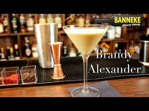 Brandy Alexander - Brandy Cocktail Selber Mixen - Schüttelschule By Banneke