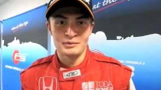 2009 第12戦 優勝 KEI COZZOLINO 選手インタビュー