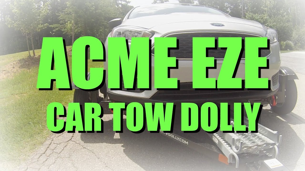 The acme eze tow car tow dolly for you rv