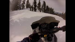 gopro: vancouver island snowmobiling