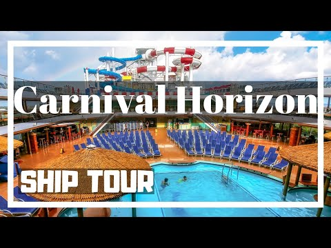 Carnival Horizon Cruise Ship Video Tour Deck by Deck Review