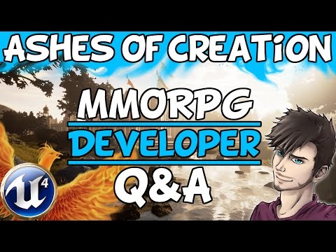 Ashes Of Creation MMORPG Developer Q&A