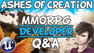 Ashes Of Creation MMORPG Developer Q&A