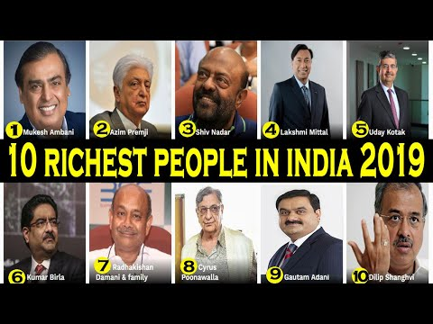 Top 10 Richest people in the India 2019 | Net Worth and lifestyle