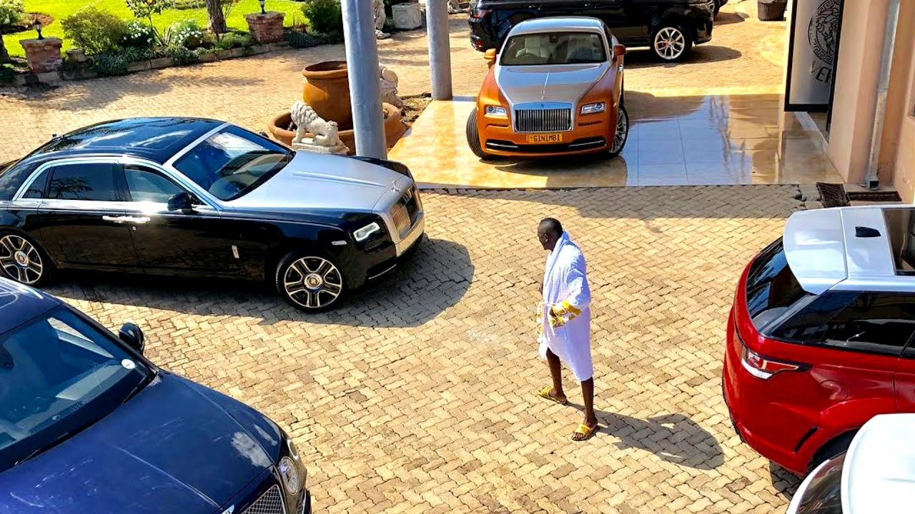 Ginimbi Car Collection | 6 Rolls Royce, 4 Bentley | Zimbabwe Millionaire -  YouTube