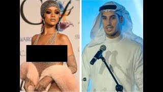 Шок!!! Певица Рианна собирается замуж за араба!!!