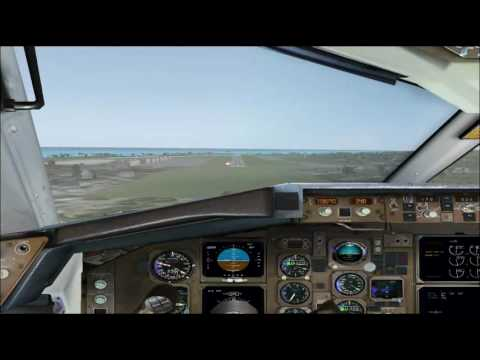 CLS American 767-300 (One World) - Landing in Kahului (FSX) - YouTube