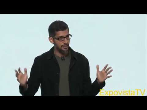 Google's Sundar Pichai Introdces Pixel Phone and Daydream VR