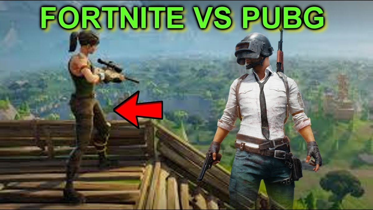 Pubg V Fortnite: FORTNITE VS PUBG! WHAT SHOULD YOU BUY?