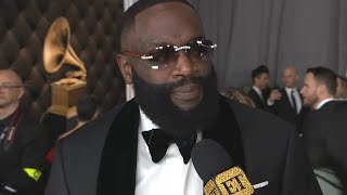 Rick Ross Reacts to Kobe Bryant's Death | GRAMMYs 2020