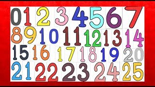 Let's Count from 0 to 25 with Kids Fun Puzzle! Little Kids Channel