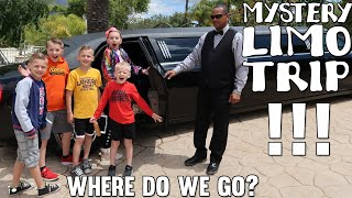 Limo Ride, Twins Get Neck Gear, Music Video, Kids Go To Summer Camp ...