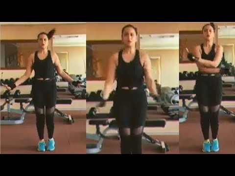 Sonakshi Sinha SHOWS OfF Her Fitness Strength In Her Latest Workout Video
