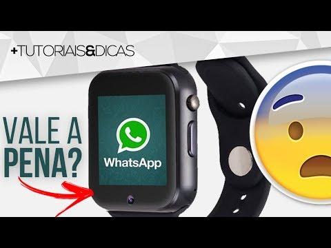 Smartwatch A1 Vale A Pena Comprar? Funções? WhatsApp? - Smartwatch A1 Review [PTBR]