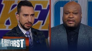 Kawhi & Clippers are closing the gap on LeBron & Lakers — Antoine Walker | NBA | FIRST THINGS FIRST