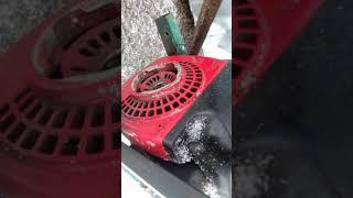 Как сделать мопед из бензопилы урал   1часть