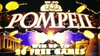 Pompeii Slot Bonus   5 Coin Trigger, 20 Free Games