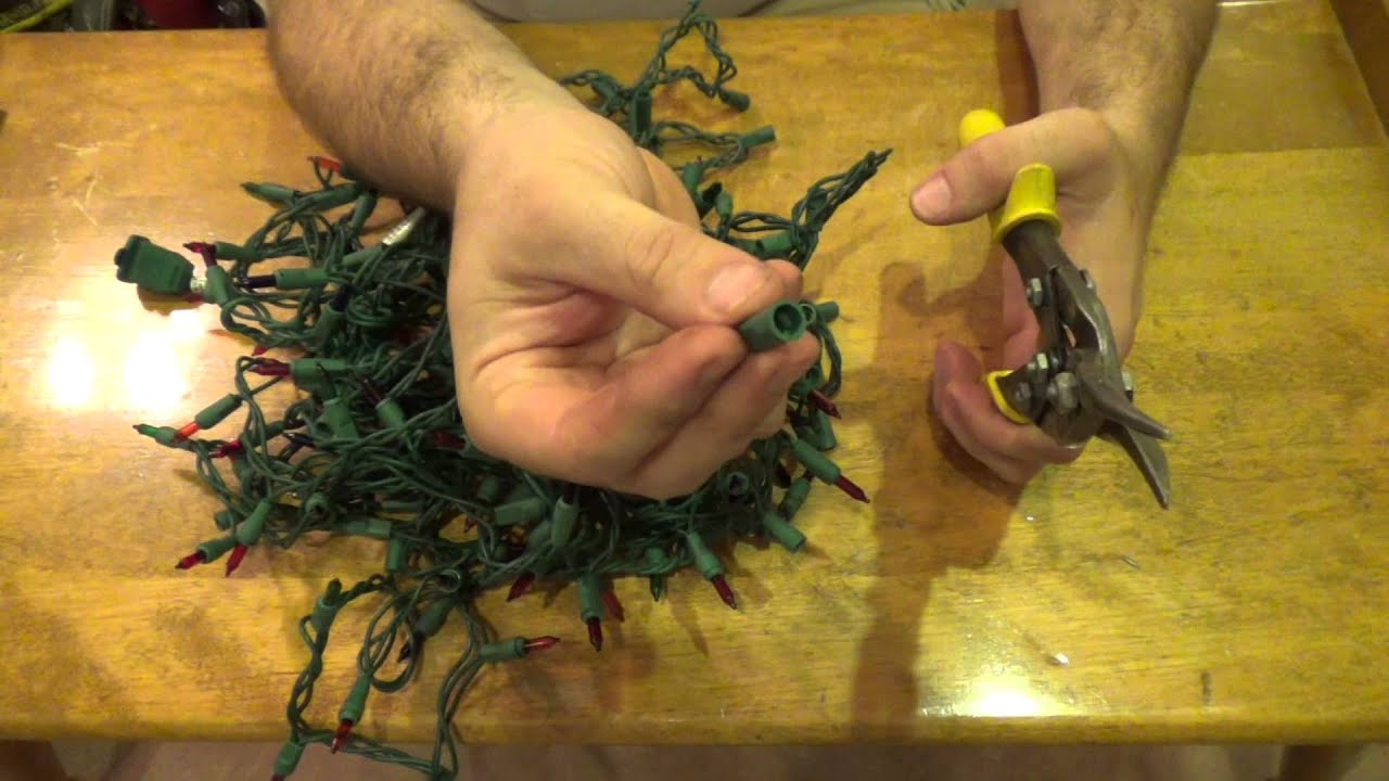How To Sort And Recycle Scrap Metal. Tip #6   Christmas Light