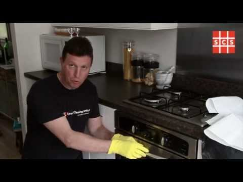Easiest way to clean an oven