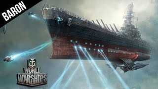 World of Warships Yamato Space Battleship & Galaxy Star Cruiser Gameplay!